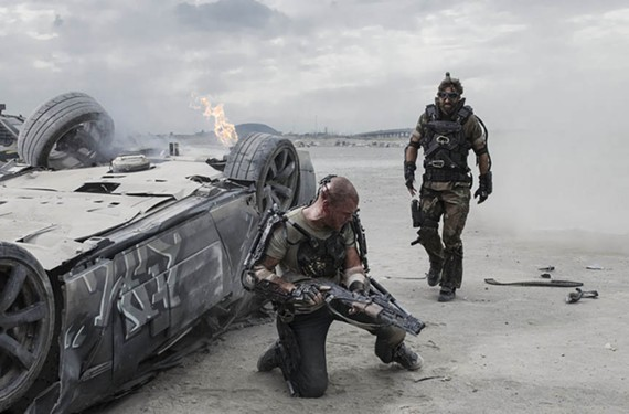 "Visual effects master TyRuben Ellingson, whose work appears in the new sci-fi adventure film, ""Elysium,"" has joined the faculty of VCU. - SONY PICTURES"