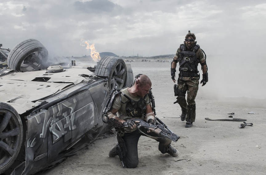 """Visual effects master TyRuben Ellingson, whose work appears in the new sci-fi adventure film, """"Elysium,"""" has joined the faculty of VCU. - SONY PICTURES"""