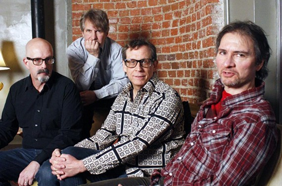 We were happy there: After 30 years, the original lineup of the dBs — Peter Holsapple, Chris Stamey, Will Rigby and Gene Holder — have reunited to record a new set of kinetic, left-of-center rock 'n' roll.