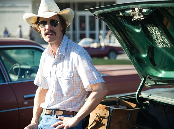 "Welcome to the McConnaissance! Actor Matthew McConaughey lost scary weight and muscle mass for his turn as an AIDS victim in ""Dallas Buyers Club."" Considering the performance and his stellar year in television and film, he's a shoe-in for best actor."