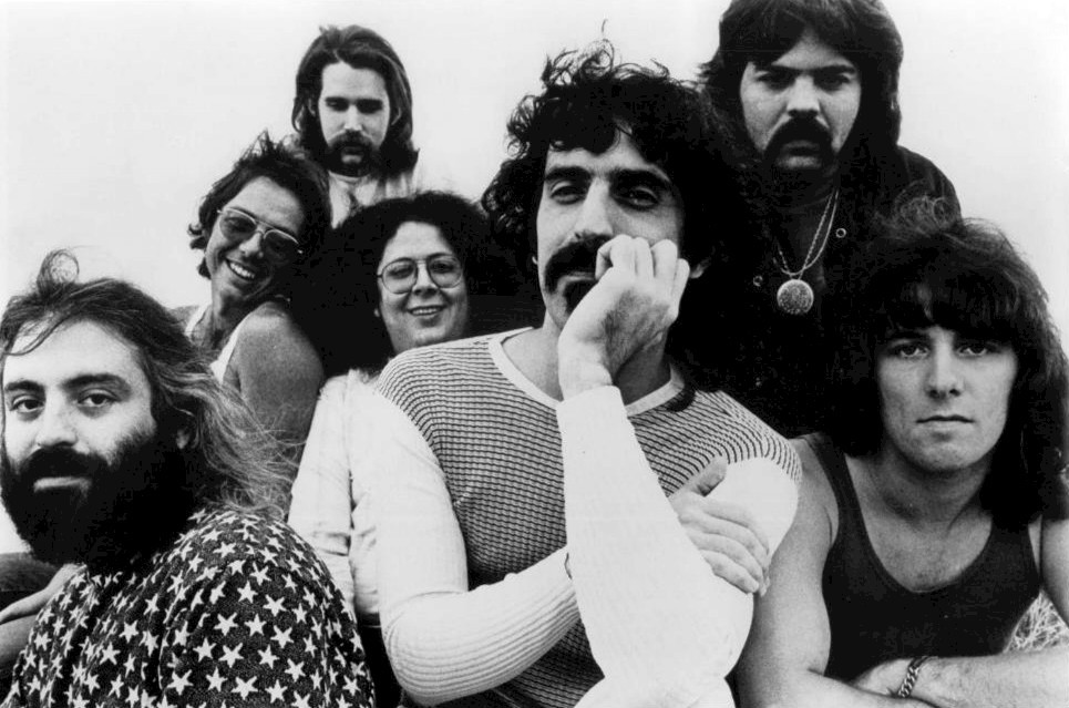 Were he still alive, Franz Zappa (pictured here in the early '70s with his band, the Mothers of Invention) would no doubt have loved hearing that he ruined Jeb Bush's wedding photos.