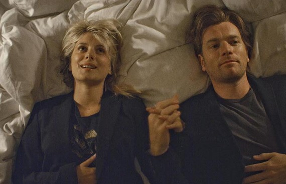 """""""What would Yoda do?"""" Mélanie Laurent and Ewan McGregor come down with a case of the cutes in a new film by director Mike Mills. - FOCUS FEATURES"""