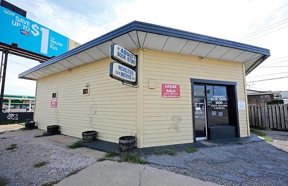 Will anyone mourn the Tri-Angle Bookstore? Maybe its trench-coated patrons. - SCOTT ELMQUIST