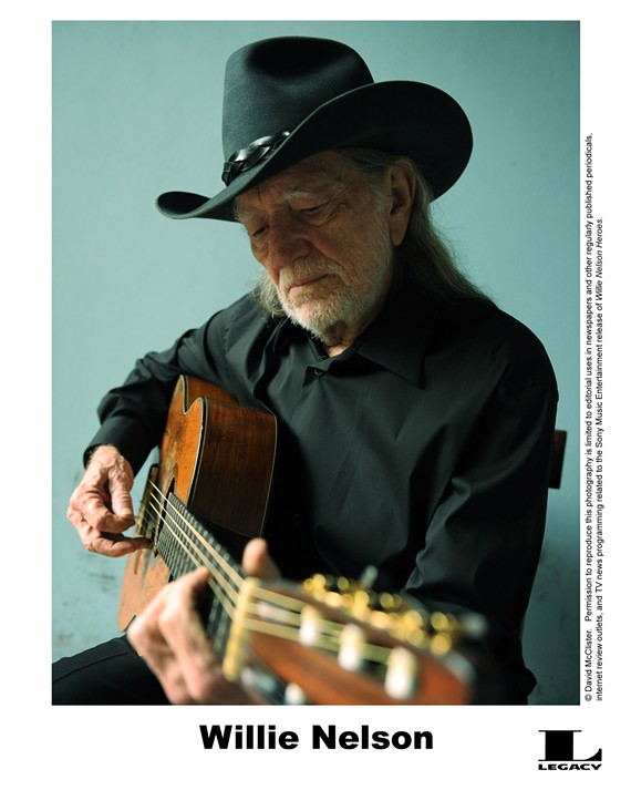 Willie Nelson returns to Innsbrook After Hours on Wednesday, Sept. 23 -- where he will not be allowed to sell his own brand of pot.