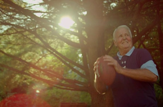 With a tribute to his 74-year-old, football-playing father, Richmond filmmaker Lucas Krost is another step closer to seeing him featured nationally in an NFL Films competition.
