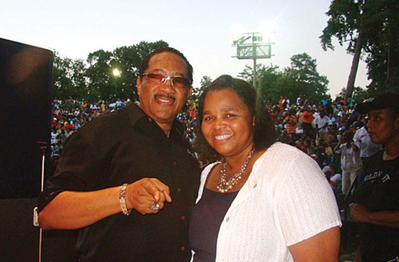 With Bobby Jones, radio personality Sheilah Belle is holding the third annual Gospel Music Fest with the Belle at Dogwood Dell.