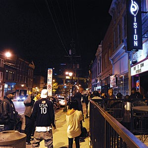 With less than a week to meet the deadline, the city rushed to create application forms for nightclubs, such as Vision Ultra Lounge in Shockoe Bottom, seeking dance-hall permits.