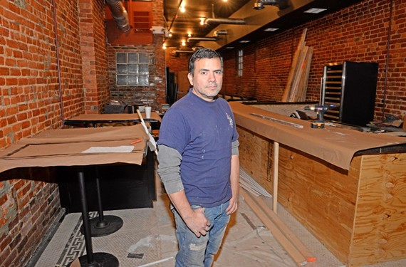 With lessons learned at his previous restaurant, Yofre Blanco is working to open a new one on West Grace Street in the spring.