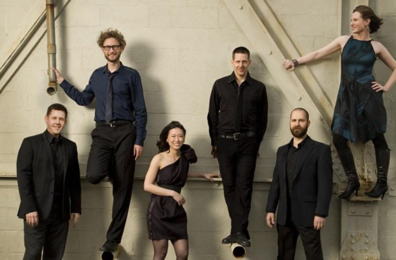 """""""You hear a struggle in the sound."""" The Grammy-winning eighth blackbird returns to the Modlin Center with a program of challenging minimalist works."""