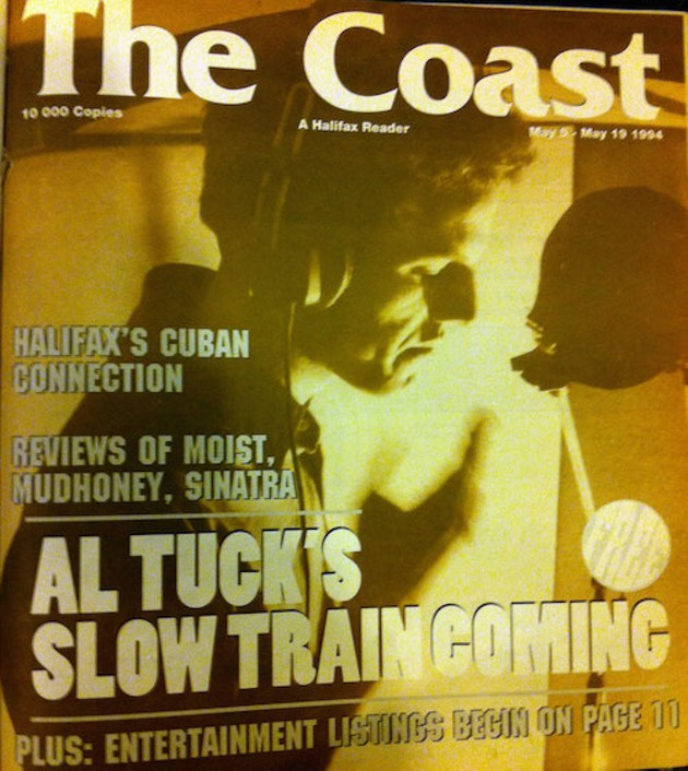 A Coast cover from 1994 featuring musician Al Tuck