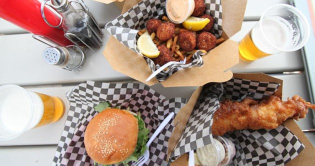 A perfect nautical feast from the South Shore Fish Shack.