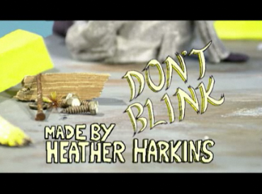 A screenshot of Heather Harkins's Don't Blink on the NFB site