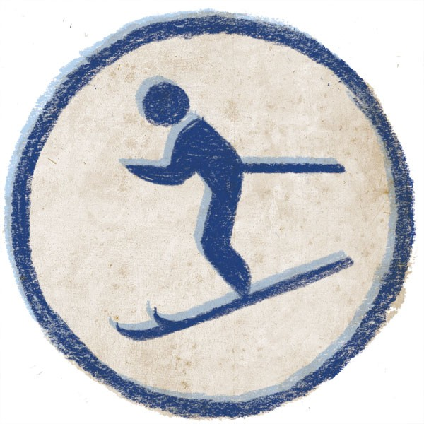 A short trip out of Halifax and you can ski like you're in the Canada Games.