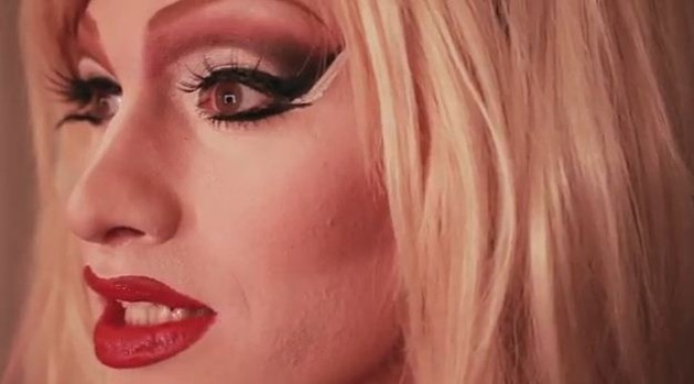 A still from Drag Becomes Him