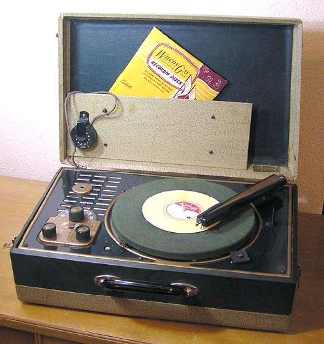 Brandon Phonograph Room Vermont