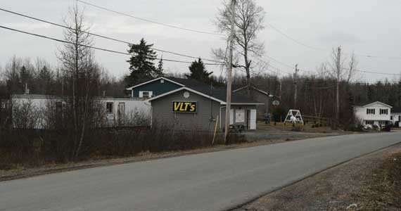 A VLT outlet in Indian Brook - ADAM MILLER