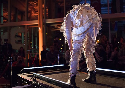 A wearable art piece from last year's event - ELIOT WRIGHT PHOTO VIA NSCAD.CA