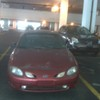 Abandoned car in Scotia Square parking garage
