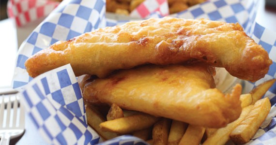 Acadian Fish & Chips' specialty is, you guessed it, fish and chips.