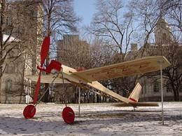 "Air fair ""Balsa Wood Airplane: The Land That Time Forgot"" is part of Flight Dreams at AGNS."