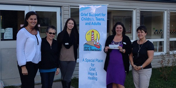 Alex's Safe Harbour offers a place for people to grieve.