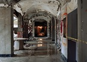 Angela Carlsen captures buildings' sleeping beauty
