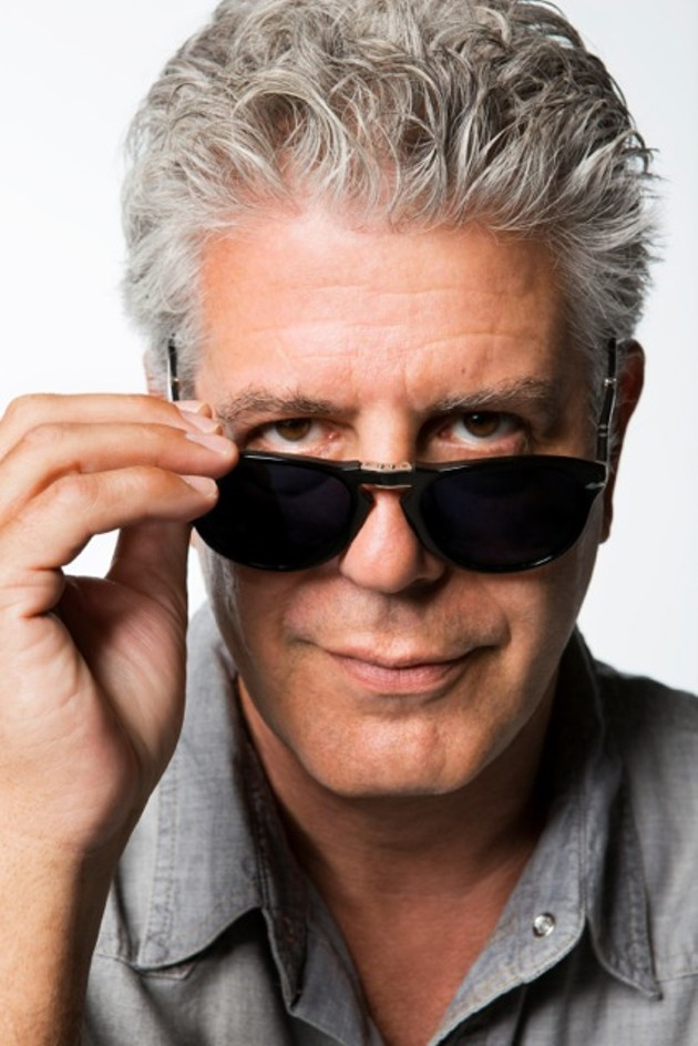 Anthony Bourdain, cooler than you