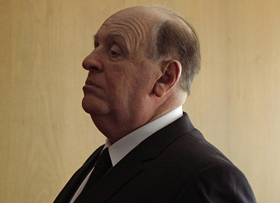 Anthony Hopkins jowls out in Hitchcock