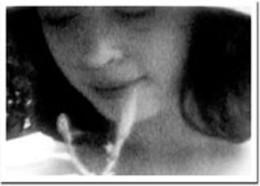 Apparition vision Chris Brabant's experimental film Filament #24.