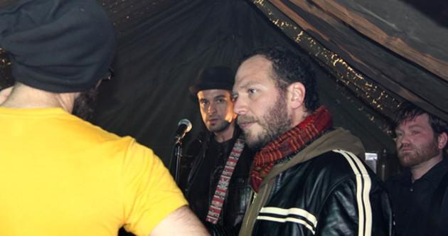 Aram Kouyoumdjian directs The Stanfields' soldier song video.