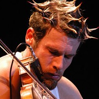 Ashley MacIsaac performs at the Carleton