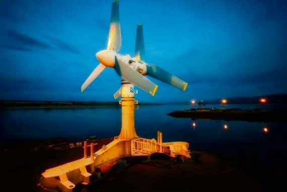 Atlantis' AK 1000 turbine will be installed in the Bay of Fundy.