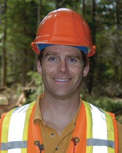 Barry Geddes, Halifax Water's watershed manager