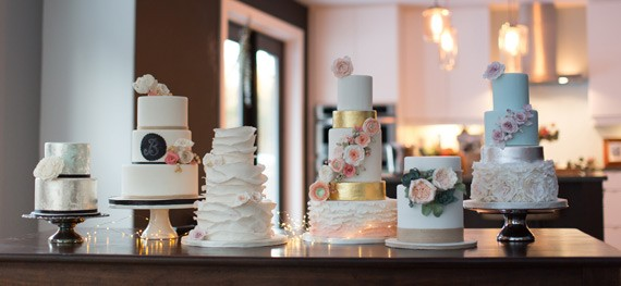 Beautiful baked goods by Just Iced Custom Cakes. - NICOLE LAPIERRE