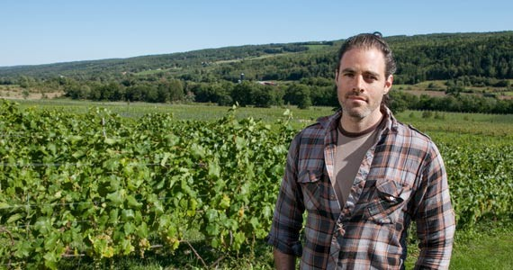 Benjamin Bridge winemaker Jean-Benoit Deslauriers - SCOTT BLACKBURN
