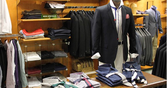 Most popular clothing stores in the us