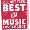 Best of Music readers' poll