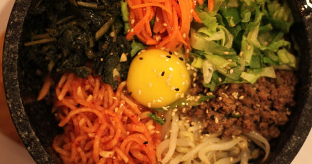 Bi bim bap till you drop at Arirang.