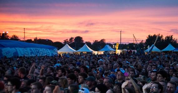 Big Red Festival at dusk - PATRICK CALLBECK