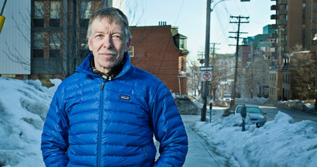 Bill Campbell is helping to form Walk Halifax. - LENNY MULLINS