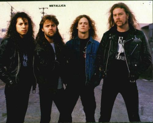 Blades of glory: Metallica gives medal a new name.