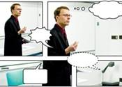 Doctor Enns strips down comics