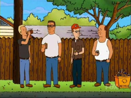 Boomhauer does a house swap with self-righteous, quiet-loving Canadians who make fun of American beer, which inspires Hanks Keggerator parties