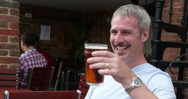 Bottoms up, Stephen Beaumont!