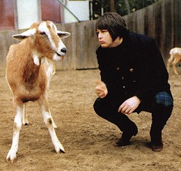 Brian Wilson prefers to talk to the animals.