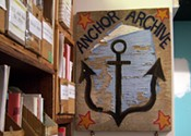 Anchor Archive Zine library zines in