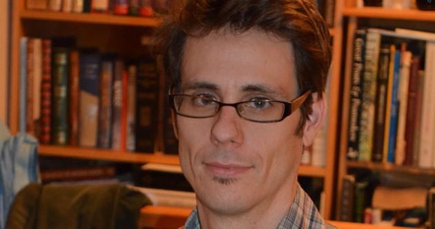Chris Benjamin, out of cartoon form.