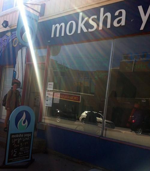 Cold October sun, hot Moksha