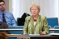 Councillor Gloria McCluskey