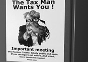 "Council's secret ""public meeting"" on tax reform"